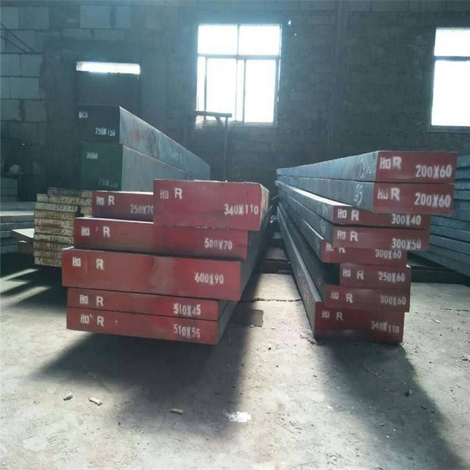 Extrusion Die Forged Steel Flat Bar 1.2344 / AISI H13 / 4Cr5MoSiV1 DIN Standard