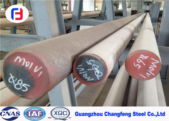 China High Compressive Strength 1.2379 Tool Steel , Pre Hardened Tool Steel Bar 14 - 80mm Dia supplier