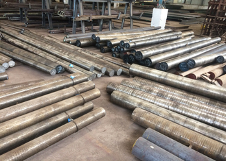 China High Isotropy Hot Rolled Steel Bar SKD61 / 4Cr5MoSiV1 Flat Bar 51 - 55HRC Hardness supplier