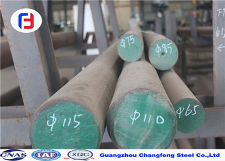 China SKD11 Heat Treating Tool Steel , Tool Steel Round Bar Excellent Machinability supplier