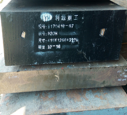 Hot Rolled and Hot Rorged Plastic Mould Steel Plate 1.2311 P20 for Die-casting Mold