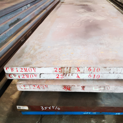 2000-5800mm Length Steel Flat Bar AISI D3 / Cr12 / Assab Xw-5 / DIN 1.2080