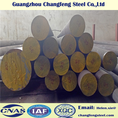 China 42CrMo Black Surface Hot Rolled Alloy Steel Round Bar SAE4140 / SCM440 / 1.7225 factory