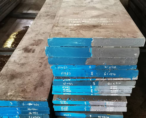 China EF / ESR S136 1.2083 SUS420 4Cr13 Stainless Steel Flat Bar Width 205-610mm For Plastic Mould factory
