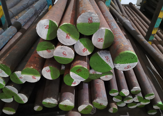 China AISI Standard Hot Rolled Round Bar 40X 40Cr 41Cr4 SCr440 SAE5140 factory