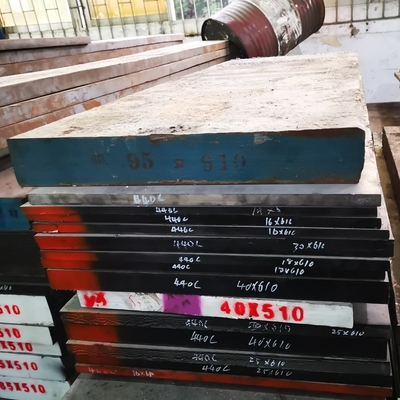 China Machined 1.2080 SKD1 D3 Cr12 Alloy Steel Flat Bar Annealed Hbs248 Max distributor