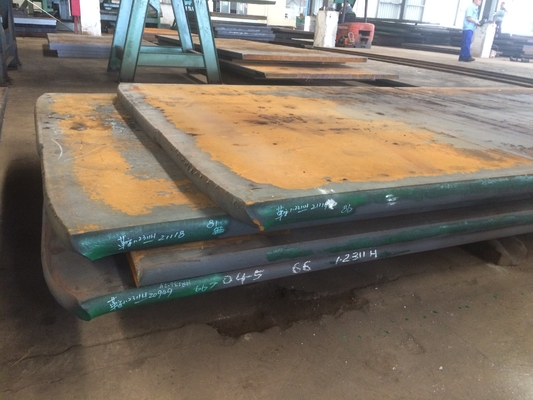 China Forged Plastic Mold Steel Plate 105-610mm Width High Hardenability factory
