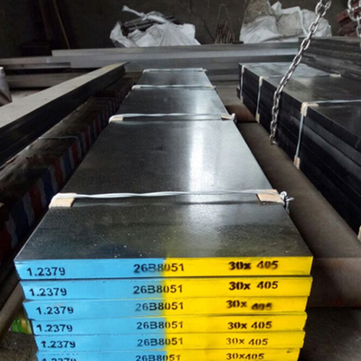 China GB Standard Hot Rolled Flat Bar Steel SKD11 1.2379 X153crmo12 D2 For Cutter factory