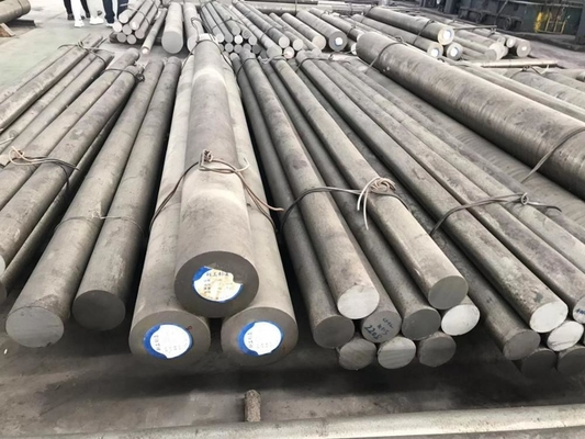 China Annealing CR12MO1V1 Alloy Steel Round Bar For Cold Work Mould / Blade distributor