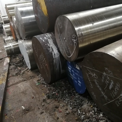 China JIS Hot Rolled Alloy Steel Rod For Die Mould EAF + LF + ESR Melting factory